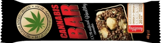 NEW! Granola bars with Cannabis seeds